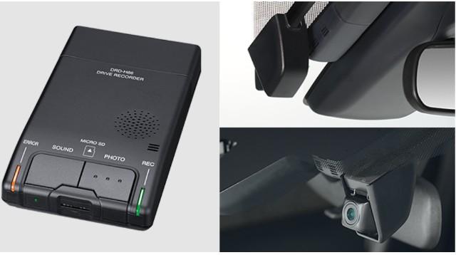 トヨタ純正カメラ別体型ドライブレコーダー(DRD-H66)の機能と評価